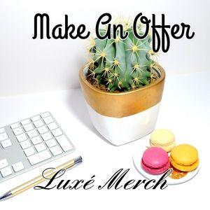 Other - 🦋Make An Offer- Luxe Merch